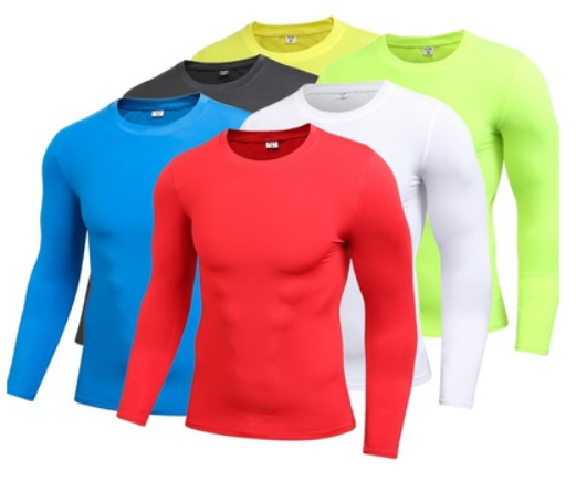 Compression Dry Fit Tops Long