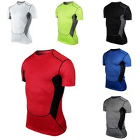Compression Dry Fit Tops Short