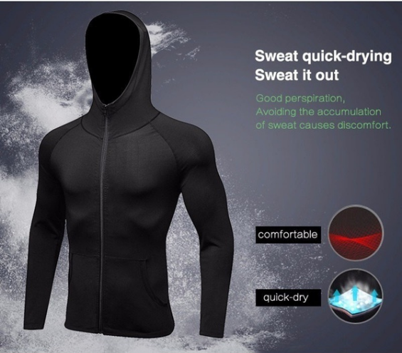 Compression Dry Fit Hoodie